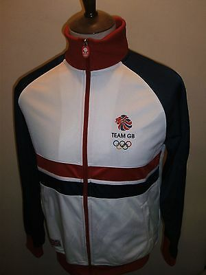 Team Gb Tracksuit Top Size Small