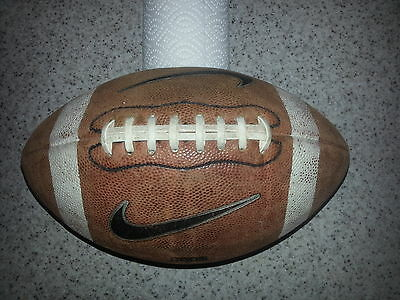 nike american football  official college game ball USA leather