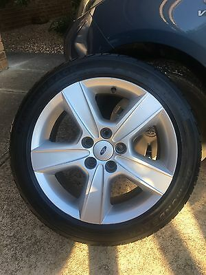 Ford BA XR Wheels And Tyres