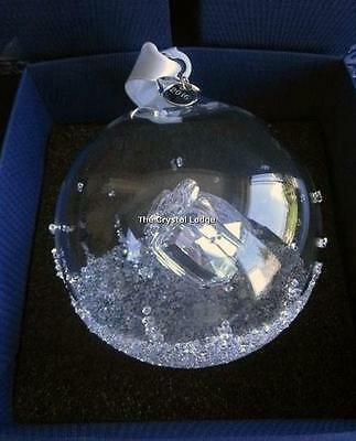 Swarovski Christmas Ball 2016 Ornament Large 5221221 Mint Boxed Retired Rare