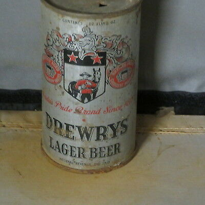 Drewrys  Beer Solid  O.i.  Irtp  Flat Top