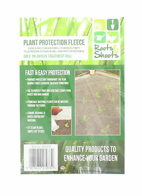 Roots & Shoots Plant Protection Fleece 5M x 1M Anti UV Treatment Roll