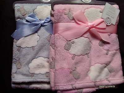 Baby Boy/Girl Super Soft  Blanket /  Wraps With Sheep Design ( 75 X 100 Cm