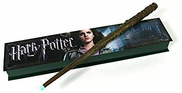 Harry Potter Hermione Granger Wand Illuminating Tip Authentic Noble Collection
