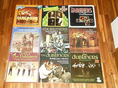 The Dubliners - SAMMLUNG - 10 LPs - Themselves - Live - 20 Original Greatest