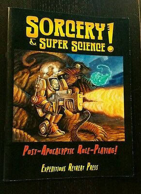 Sorcery & Super Science Post Apocalyptic Role-Playing Rpg Oop Expeditious