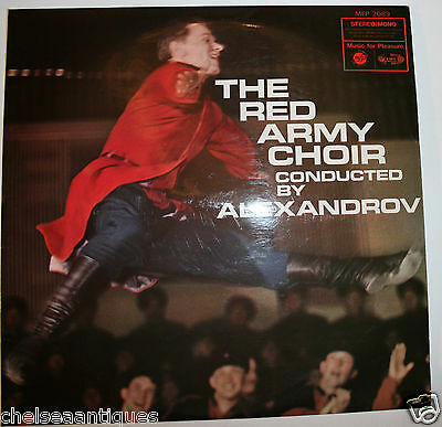 """The Red Army Choir Vintage 12"""" Vinyl LP Record Russian Folk Music by Alexandrov"""