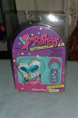 Vintage Fisher Price Twinkles Mouse Smooshees Clip-Ons Doll Mip 1988