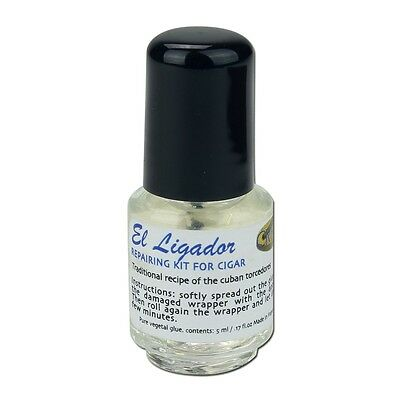 El Ligador Credo Cigar Repair Glue - 5ml (Repair for Damaged Cigar Wrappers)
