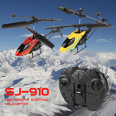 Mini RC Helicopter Radio Remote Control Micro Electric Heli Copter Aircraft Gift