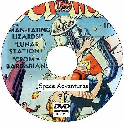 Space Adventures Comics Plus Out of This World Comics and more on DVD