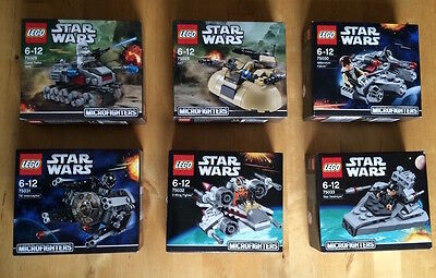 Lego Star Wars 75028 75029 75030 75031 75032 75033 Microfighters 1° Serie; Nuovo