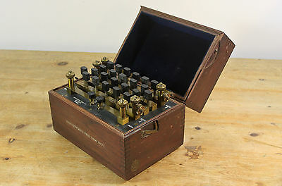 apparatus MFG no. 1233 vintage ohms tester resistance box 1940