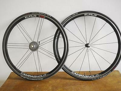 Campagnolo Eurus 10 Speed Clincher Wheels In Good Condition, Ready To Go