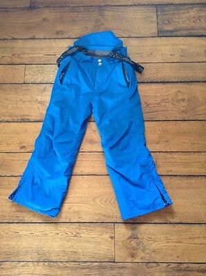 ski trousers salopettes child size 128 surfanic