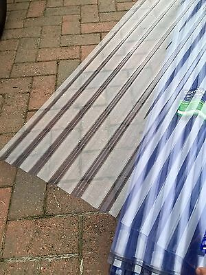 Clear pvc corrugated roofing sheets 10ft
