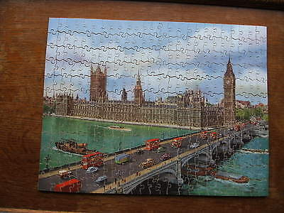 Victory Wood Jigsaw Puzzle. Houses of Parliament Westminster Bridge. 300 pieces