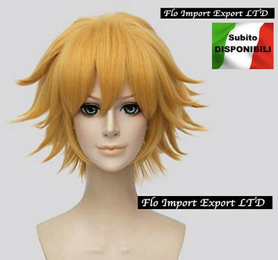 Inspired Miraculous Parrucca Chat Noir Carnevale Ladybug Cosplay Wig CHNWIG