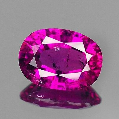 1.31cts Rare Natural Loose Gemstones Oval Rubellite Pink Tourmaline Free Ship