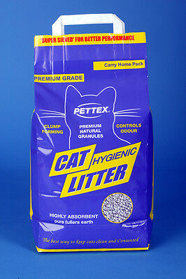 Pettex Premium Cat Litter 5kg Bio-degradable