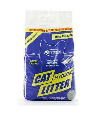 Pettex Premium Hygienic Cat Litter 10kg Bio-degradable