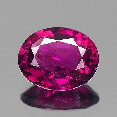 2.15cts Rare Natural Loose Gemstones Oval Purple Pink Tourmaline Free Shipping