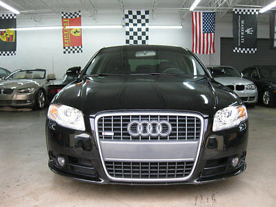 2008 Audi A4 2.0T IMMACLUTE 2.0 TURBO AUTOMATIC BLACK ON BLACK NON SMOKER FLORIDA STUNNING CAR