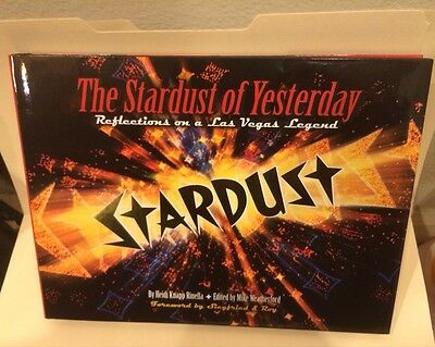 The Stardust of Yesterday☀Vintage Las Vegas☀Casino Collectible☀Historical Book