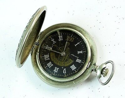 Vintage Soviet Russian Russia USSR MOLNIA Odessa 1994 Military Pocket Watch