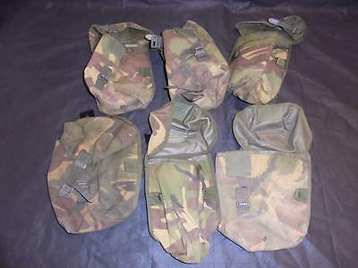 Pair of British Military Issue DPM Camouflage PLCE Utility Pouch Webbing