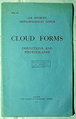 Photographs of Cloud Forms. Air Ministry Meteorological Office