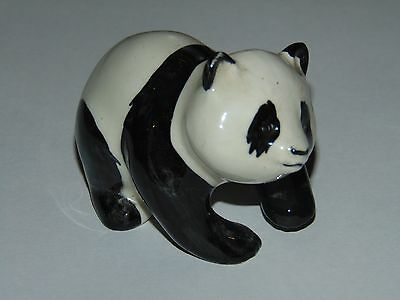 CUTE VINTAGE BESWICK CHINA FIGURE OF A PANDA in Good Condition