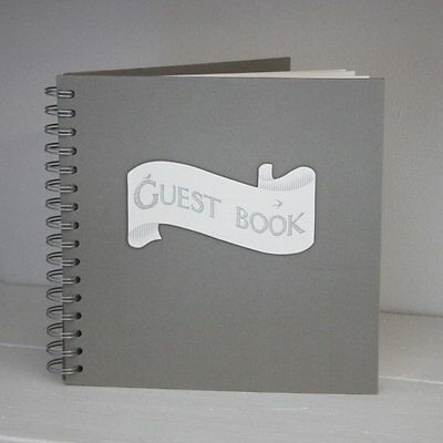 East of India Ribbon Style Guest Book Wedding Gift