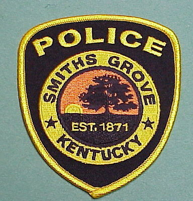Smiths Grove  Kentucky  Ky  Est. 1871   Police Patch   Free Shipping!!!