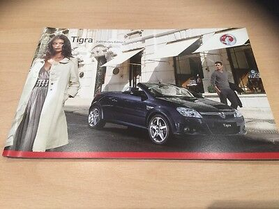 VAUXHALL TIGRA 2009 MODELS EDITION 1, Sales Brochure, VM0807904, 44 Pages