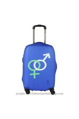 TRAVEL WORLD Housse GENRES Bleu taille L