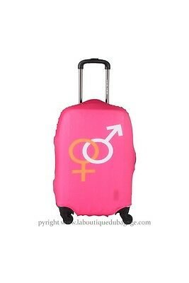 TRAVEL WORLD Housse GENRES Rose taille M