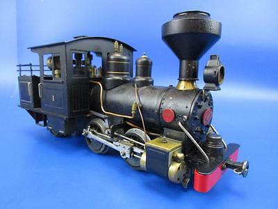 "Aster Live Steam Gauge 1 Baldwin B1 0-4-2 ""1"""