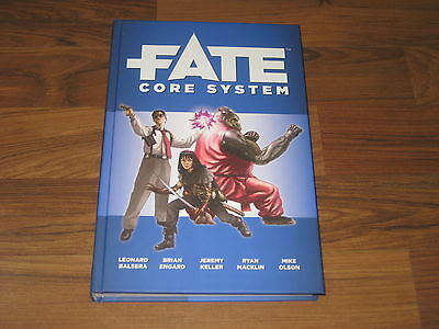 Fate Core System Rulebook Hardcover Evil Hat 2015 Neu New