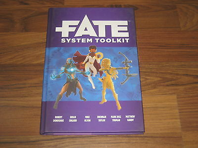 Fate System Toolkit Accessory Hardcover Evil Hat 2013 Neu New
