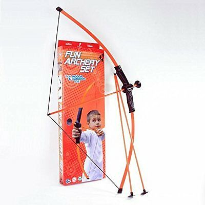 Petron Fun Archery Set Suction Cup Bow Arrows Outdoor Target Game