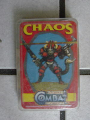 "Warhammer/Citadel Fantasy Playing Cards/Game -noch ovp.""Chaos""°°"