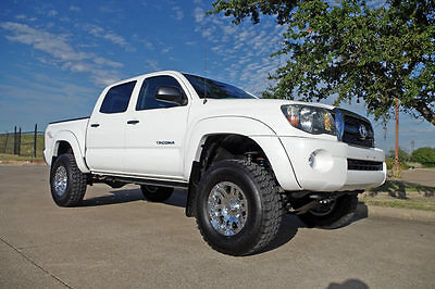 2011 Toyota Tacoma Base Crew Cab Pickup 4-Door 2011 Toyota Tacoma Double Cab TRD Custom 4x4, Lift Kit, 37k Miles, JBL Audio!