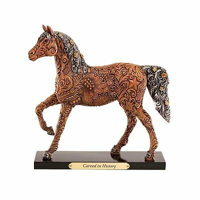 Trail of Painted Ponies Collectible Figurine Horse NIB Carved in History Retired