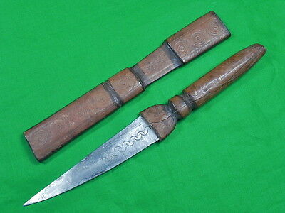 Antique Old Africa African Fighting Knife Dagger