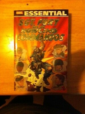 Essential Sgt. Fury and His Howling Commandos vol 1 marvel silver age