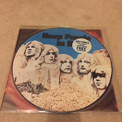 Deep Purple - In Rock - Picture Disc With Poster Excellent Near Mint
