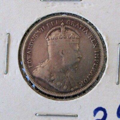 Canada 1903 25 cents  Silver
