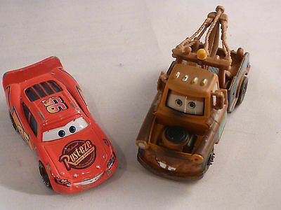 Disney Pixar Cars - Collection of 19 Metal Cars incl,  Mater and McQueen