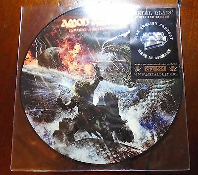 Amon Amarth Twilight of the Thunder God Picture Disc LP Limited Edition